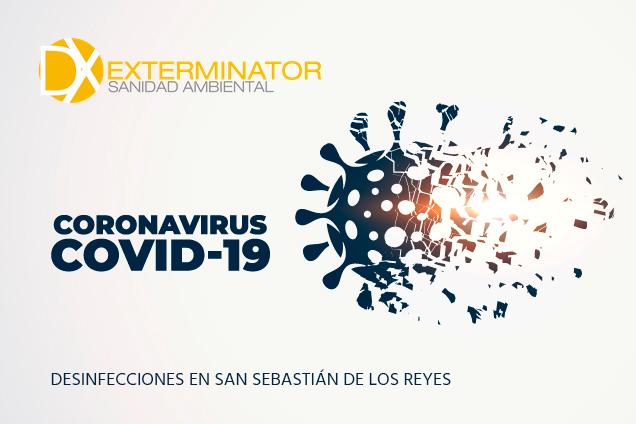 Servicio de desinfección en San Sebastian de los Reyes